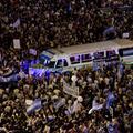 Marée humaine à Buenos Aires