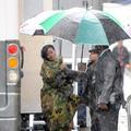 Pluie rien n'arrête Rihanna!