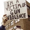 """I'm a victim of gun violence"""