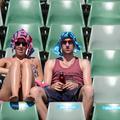 On se calme et on boit frais à Melbourne