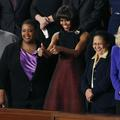 Michelle, toujours dans les starting-blocks