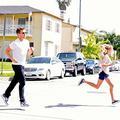 Ryan dans la course
