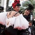 Cannes : les extravagantes du tapis rouge