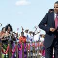 Danse avec le Président