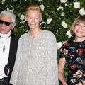 Tilda Swinton et ses chaperons fashion