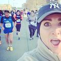Selfies façon Ellen DeGeneres au semi-marathon de New York