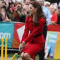 Kate Middleton à la batte