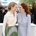 Mia Wasikowska et Julianne Moore, de Hollywood à Cannes