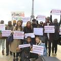 Carla Bruni, Léa Seydoux, Ines de la Fressange manifestent pour les lycéennes nigérianes
