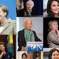 Merkel, Lagarde et Beyoncé parmi les femmes les plus puissantes du monde