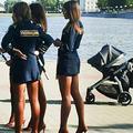 Les policières russes sanctionnées pour leurs uniformes jugés trop courts