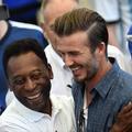 Pelé et Beckham, les hommes de Rio