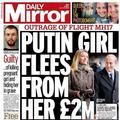 Vol MH17 abattu : la fille de Poutine s'enfuit des Pays-Bas