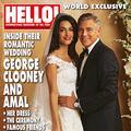 La robe de mariée de Madame Clooney