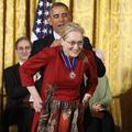 Barack Obama déclare sa flamme à Meryl Streep