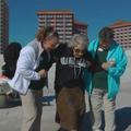 À 100 ans, elle réalise le rêve de sa vie : voir l'océan