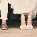 Chaussures inspirées pour mariée comblée