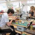 Reportage dans les ateliers des grandes maisons de couture avec Alexandra Golovanoff