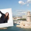 Marseille dans les pas d'Ana Girardot
