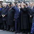 Merkel et Hidalgo gommées de la photo officielle de la marche républicaine