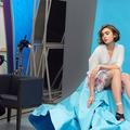 Lily Collins exquise icône