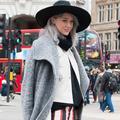 """Street style à la Fashion Week de Londres : le retour des """"seventies"""""""