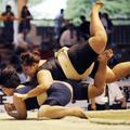 Les Japonaises se mettent au sumo