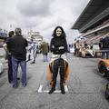 Inès Taittinger, 24 ans, pilote automobile