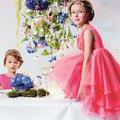 Tenues de cortège colorées pour nos bambins adorés