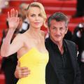 Charlize Theron et Sean Penn, couple royal sur les marches du Palais des Festivals