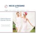 Ines de la Fressange Paris lance sa boutique en ligne