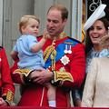 "Le prince George en vedette du ""Trooping the Colour"""