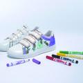 Le Coq Sportif et Crayola invitent les enfants à personnaliser leurs baskets