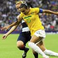 Marta, meilleure joueuse de l'histoire du football féminin