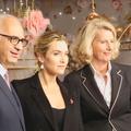 Kate Winslet dévoile les vitrines de Noël du Printemps