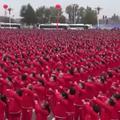 Le record du monde de danse battu par 18.440 Chinoises en survêtements
