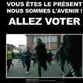 Inquiets pour leur avenir, des enfants demandent aux adultes d'aller voter