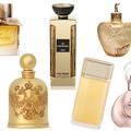 Pour les fêtes, les flacons de parfum se parent d'or