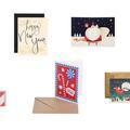 Jolies cartes de vœux exigées pour Noël