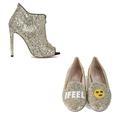 Une paire de souliers pour briller, l'autre pour danser : le duo parfait pour le réveillon