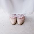 Les jolis souliers de la mariée