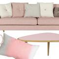 Vingt pièces rose poudré pour donner un coup de blush à votre déco