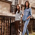 Charlotte Gainsbourg et Alice Attal, égéries pour Comptoir des Cotonniers x J.Brand
