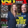 """Valérie Trierweiler méconnaissable à la une de """"VSD"""""""