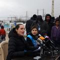 """Angelina Jolie dénonce une situation syrienne """"honteuse"""" dans un camp de réfugiés au Liban"""