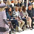 Les premiers rangs de la Fashion Week de Paris