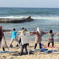 Du yoga pour échapper aux tensions en Libye