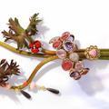 Pierre de couleur sur bijoux précieux, la nouvelle tendance