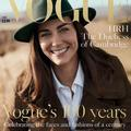 "Kate Middleton en couverture de ""Vogue UK"""