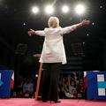 Hillary Clinton, première femme à briguer la Maison-Blanche